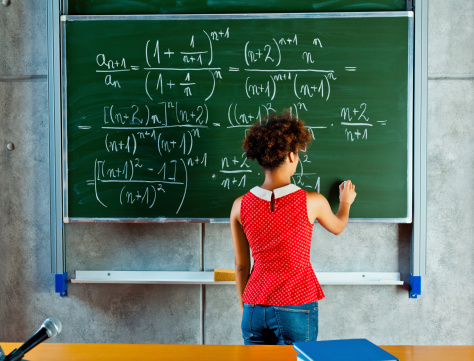Math Lesson Stock Photo - Download Image Now