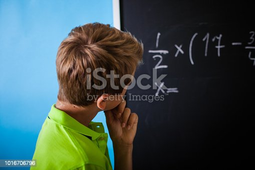 531869550 istock photo Math Lesson  - Teenager Solving Mathematical Equation 1016706796