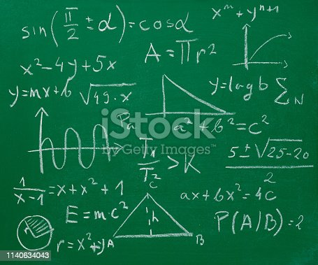 899619542 istock photo math mathematics formula chalkboard blackboard 1140634043