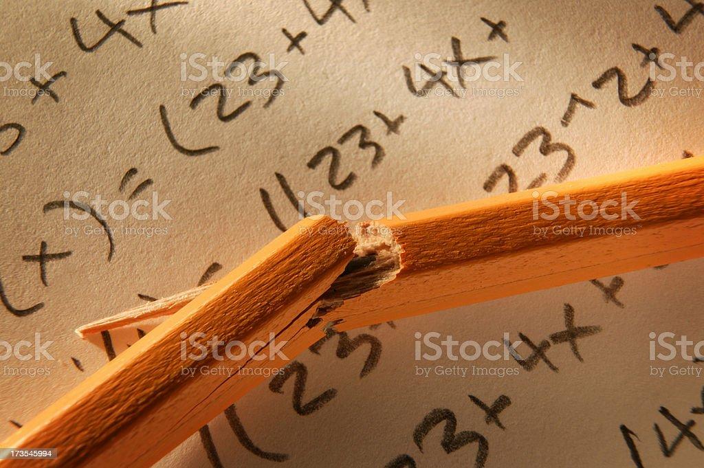 Math Problem royalty-free stock photo