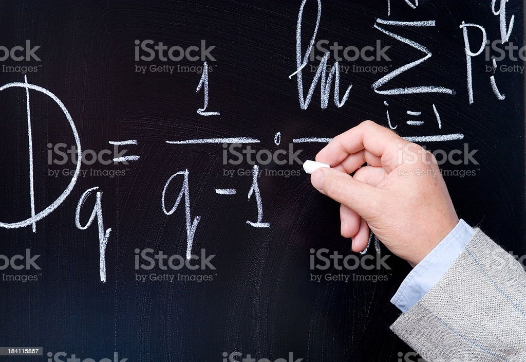 math science royalty-free stock photo