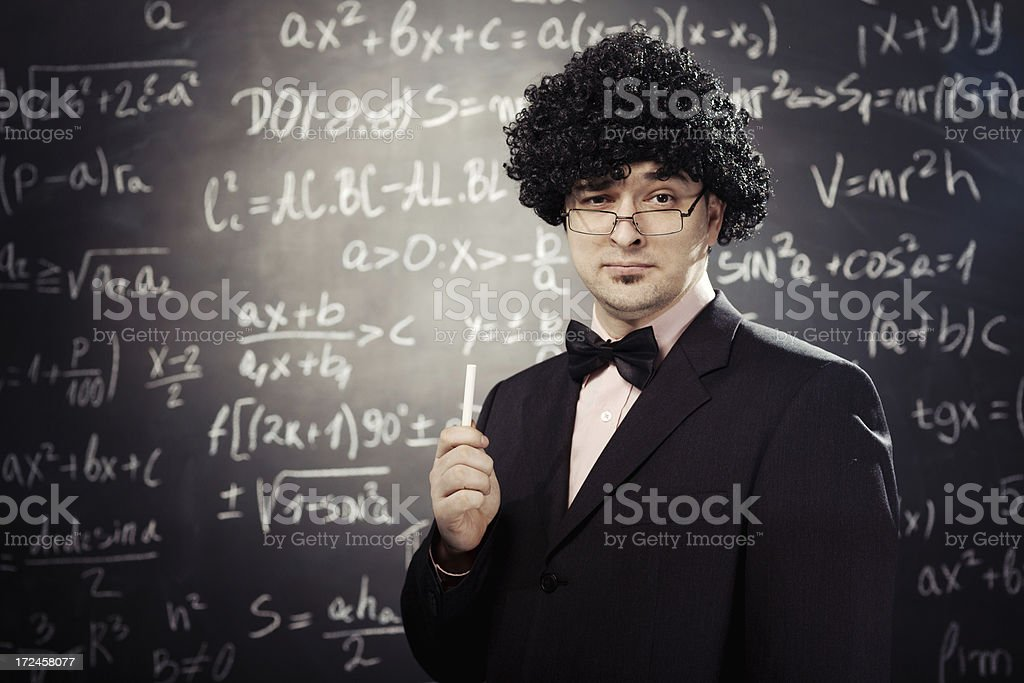 math teacher royalty-free stock photo