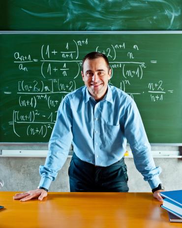 Math Teacher Stock Photo - Download Image Now
