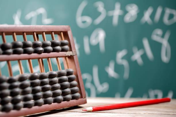 Mathematical Courses - foto stock