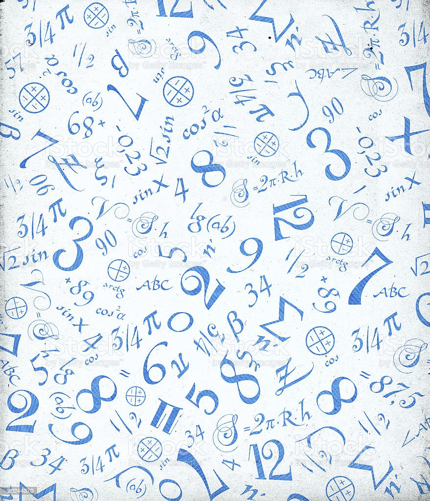 Mathematical Symbols Background Stock Photo & More ...