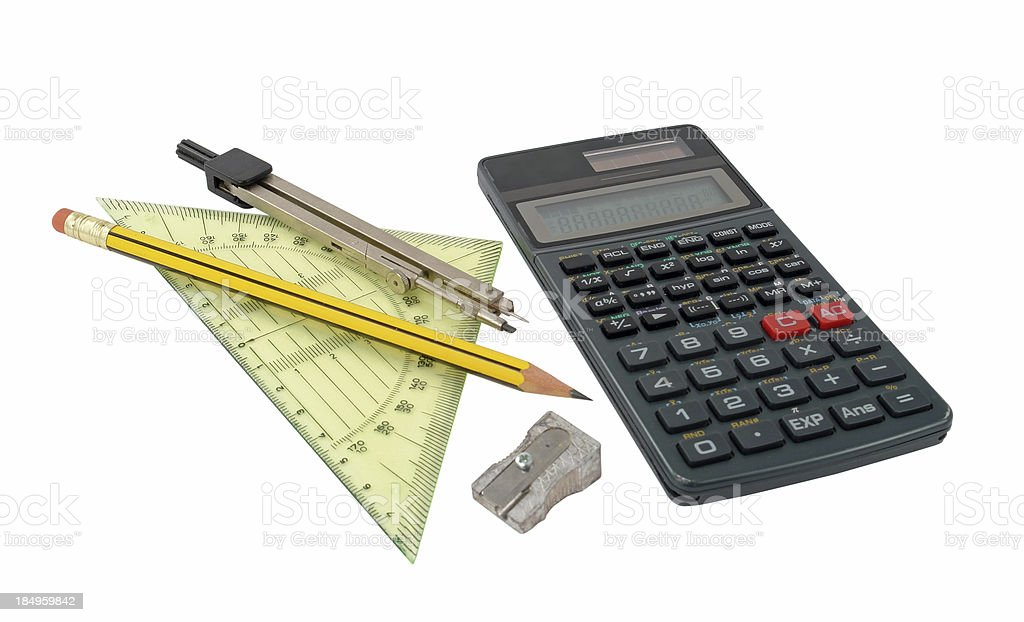 Mathematics class royalty-free stock photo