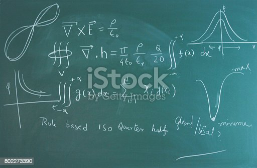 istock Mathematics class 802273390