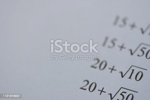 688090582 istock photo Mathematics equations 1151918001