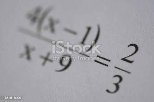 688090582 istock photo Mathematics equations 1151918006