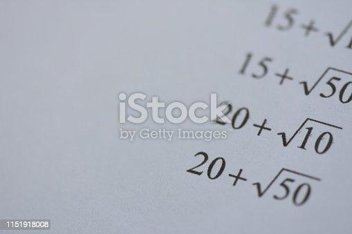 688090582 istock photo Mathematics equations 1151918008