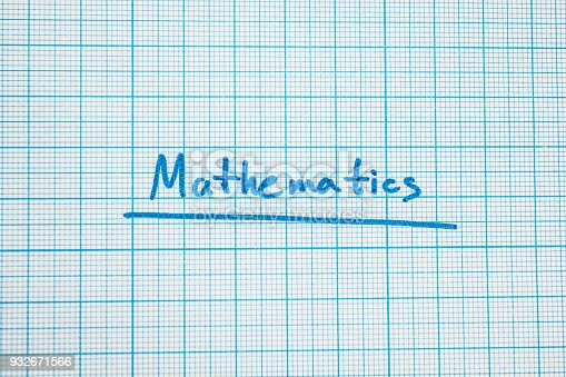 istock mathematics in a notebook 932671566