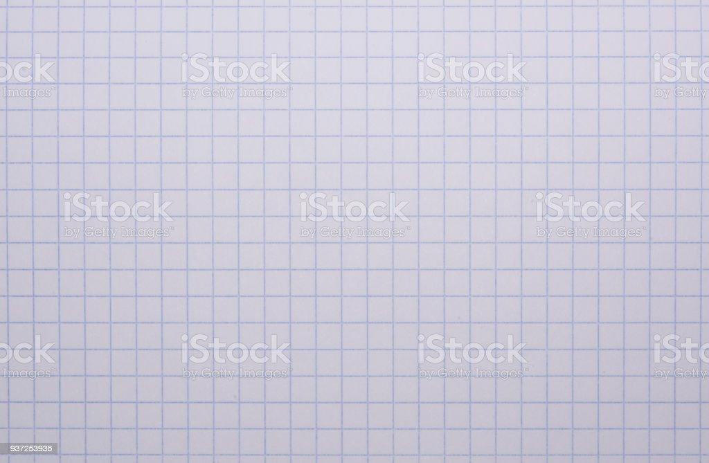 Mathematics notebook paper stock photo