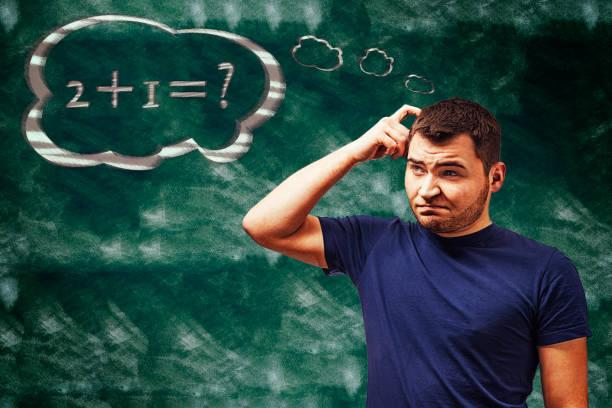 matheproblem - esame maturità foto e immagini stock