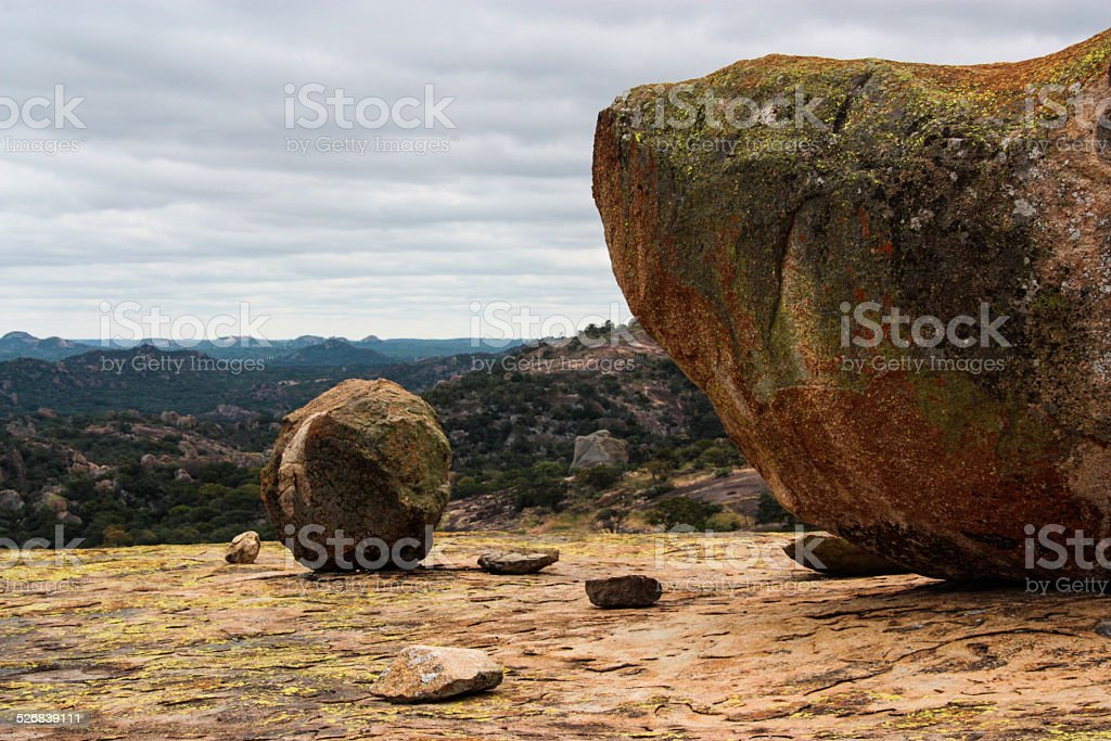 Matopo Boulders stock photo
