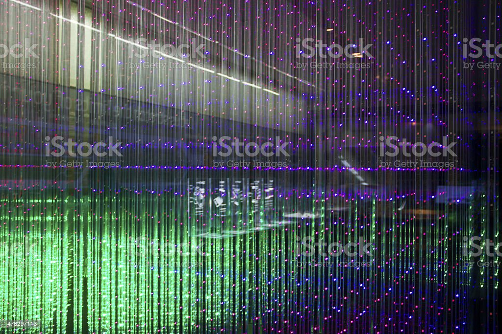 Matrix of a Screen made multiple LEDs royalty-free stock photo