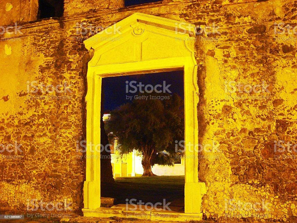 Matriz de Alcântara stock photo