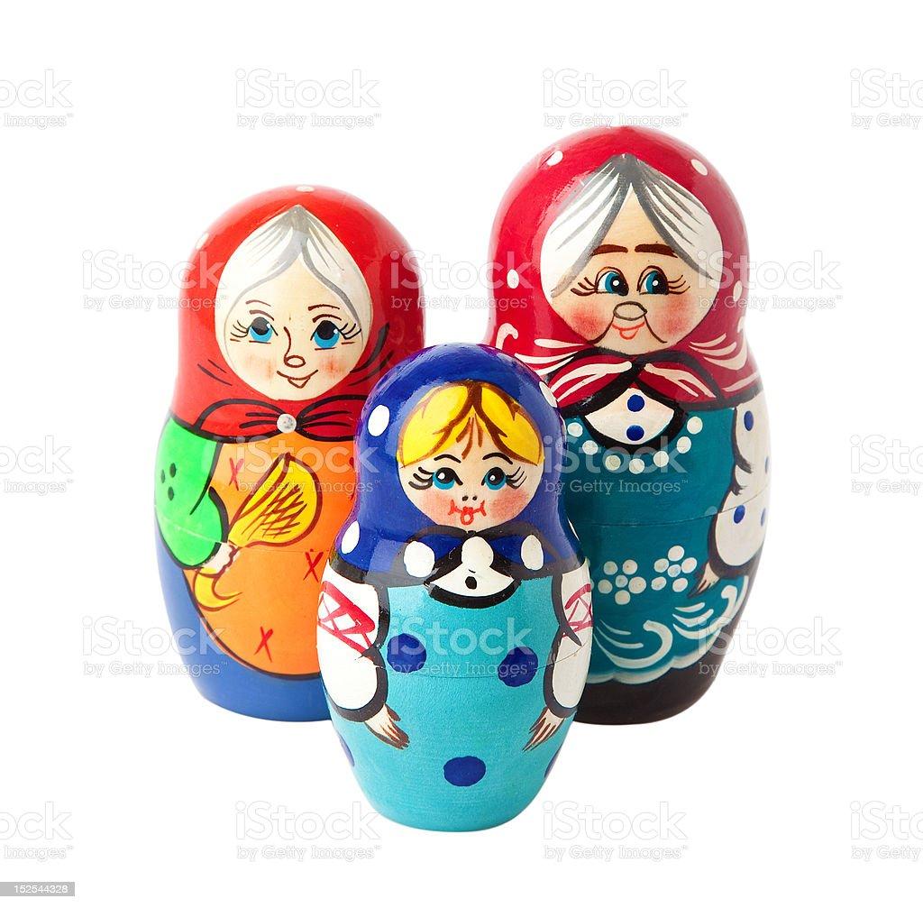 Matryoshka doll . stock photo
