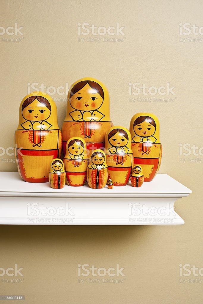 Matryoshka Dolls stock photo