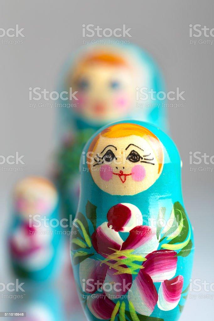 Matryoshka stock photo