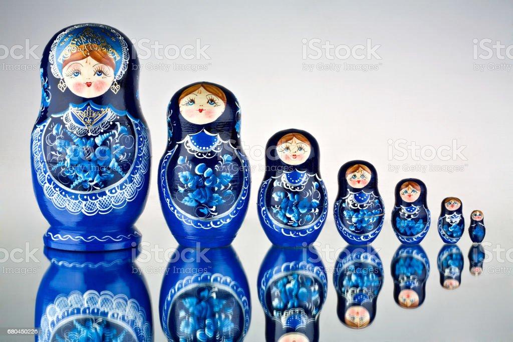Matryoshka. stock photo