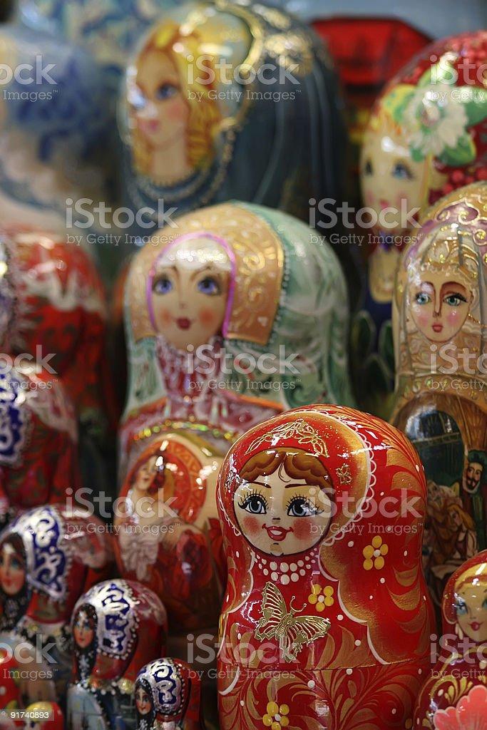 Matryoshka royalty-free stock photo