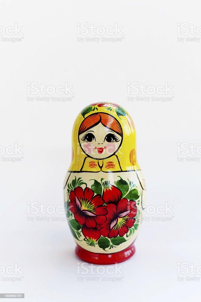 Matryoshka - Russian Nested Doll royalty-free stock photo