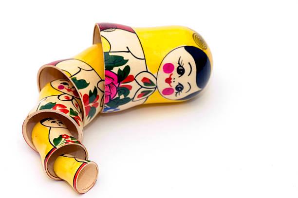 Matryoshka Russian Toys stock photo