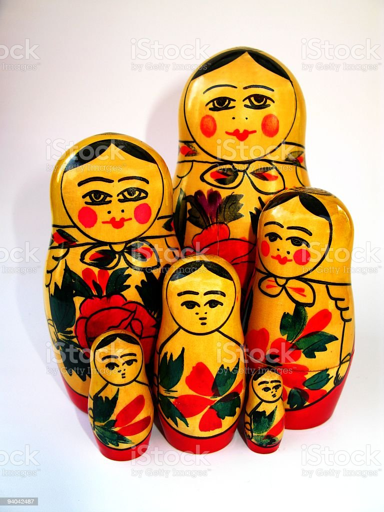 Matryoshka Toys royalty-free stock photo