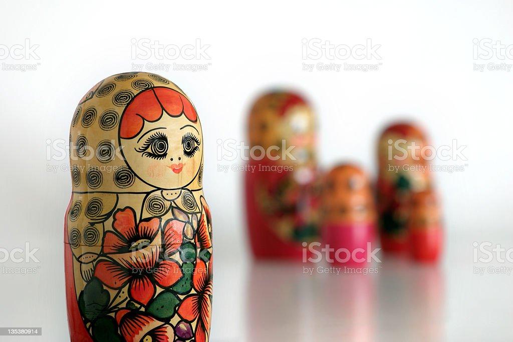 Matryoshkas stock photo