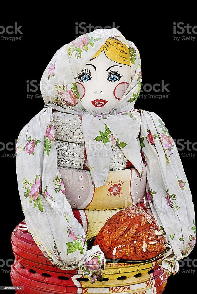 Matryoshka.The product, object, toy royalty-free stock photo