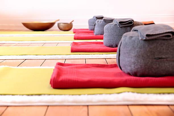 Yoga-Matten und Dämpfung – Foto