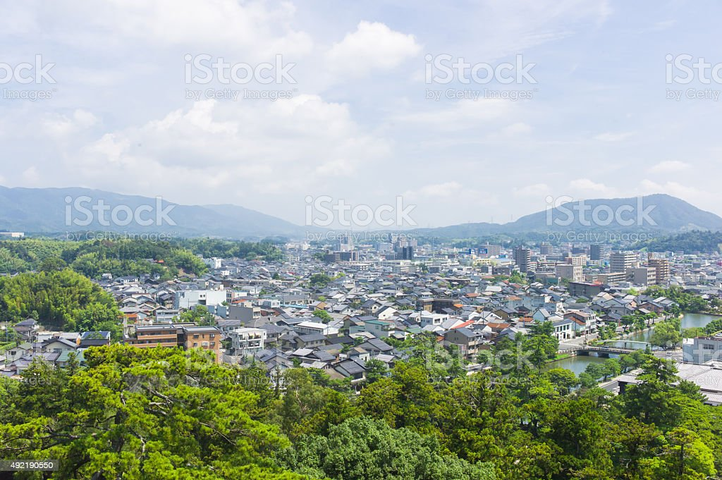 Matsue - Capital of Shimane Prefecture, Japan. stock photo