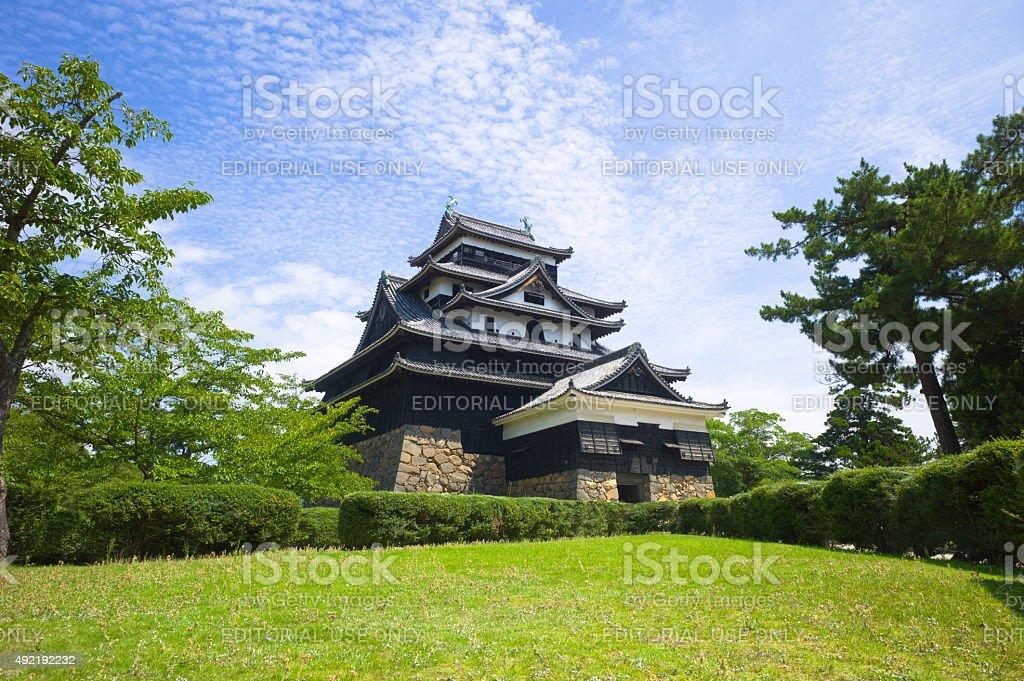 Matsue Castle, Shimane Prefecture, Japan stock photo