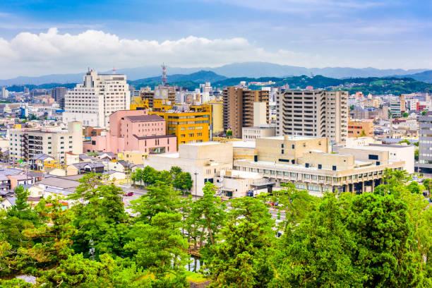 Matsue, Shimane, Japan Skyline stock photo