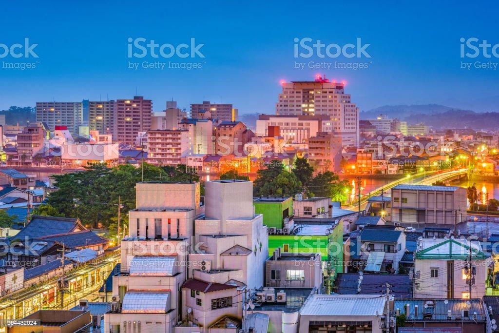 Matsue, Shimane, Japan Skyline - Royalty-free Appartement Stockfoto