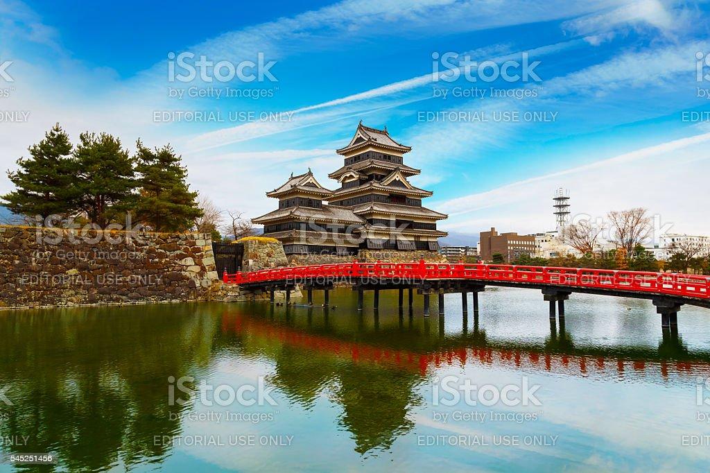 Matsumoto Castle in Japan stock photo