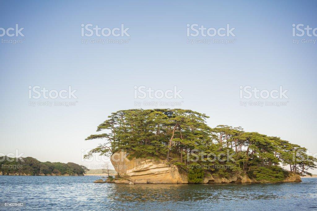 Matsushima, the three beauty spots of Japan royalty-free stock photo