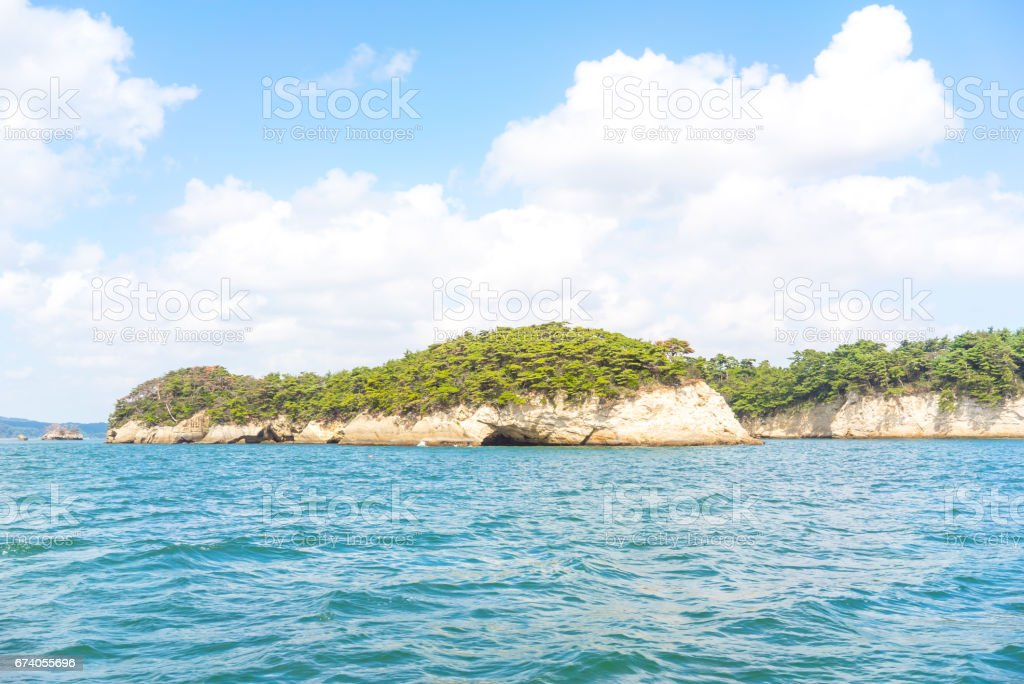 Matsushima, the three beauty spots of Japan royalty-free stock photo