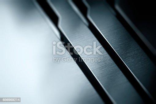 istock matt metal texture with polished aluminum finish 656969214