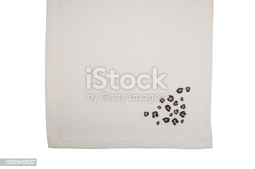 Place mat isolated