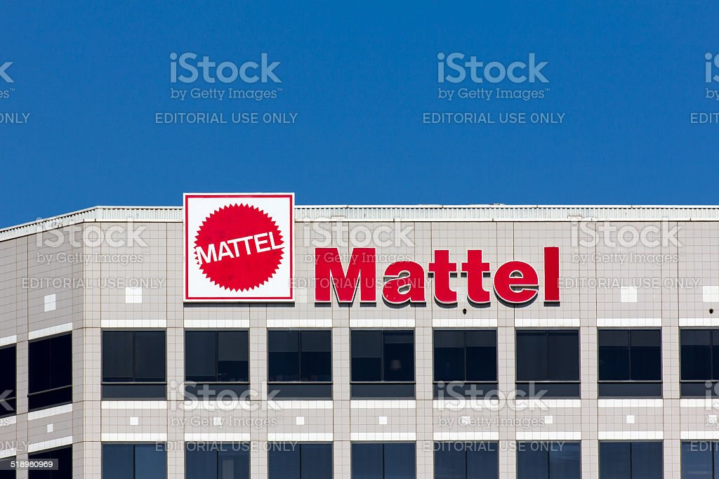 Mattel Corporate Headquarters Building stock photo