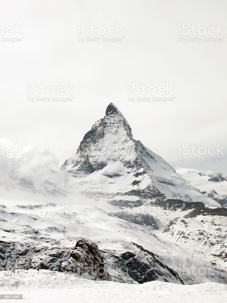 Matterhorn 2, Gornergrat, Switzerland stock photo