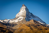 Matterhorn, probably the most recognisable and most photographed mountain in the World.