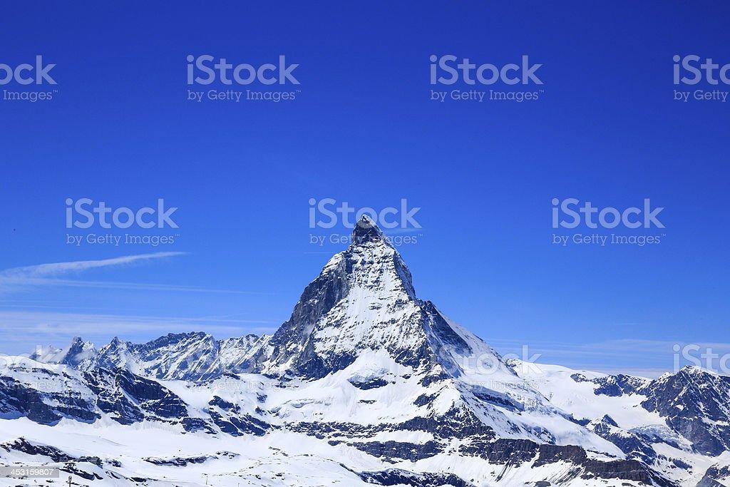 Matterhorn mountain royalty-free stock photo