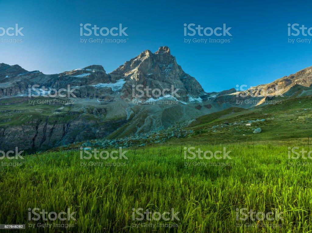 Matterhorn Mountain stock photo
