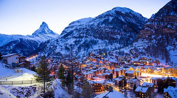 Matterhorn mountain, zermatt in switzerland Matterhorn mountain, zermatt in switzerland in 2015. swiss alps stock pictures, royalty-free photos & images