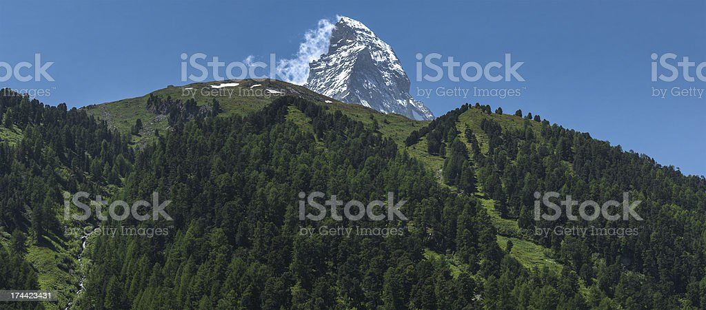 Matterhorn, Switzerland royalty-free stock photo