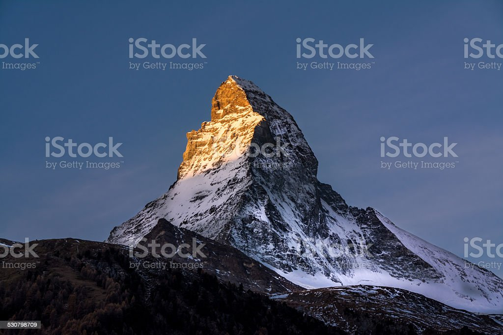Matterhorn Zermatt stock photo