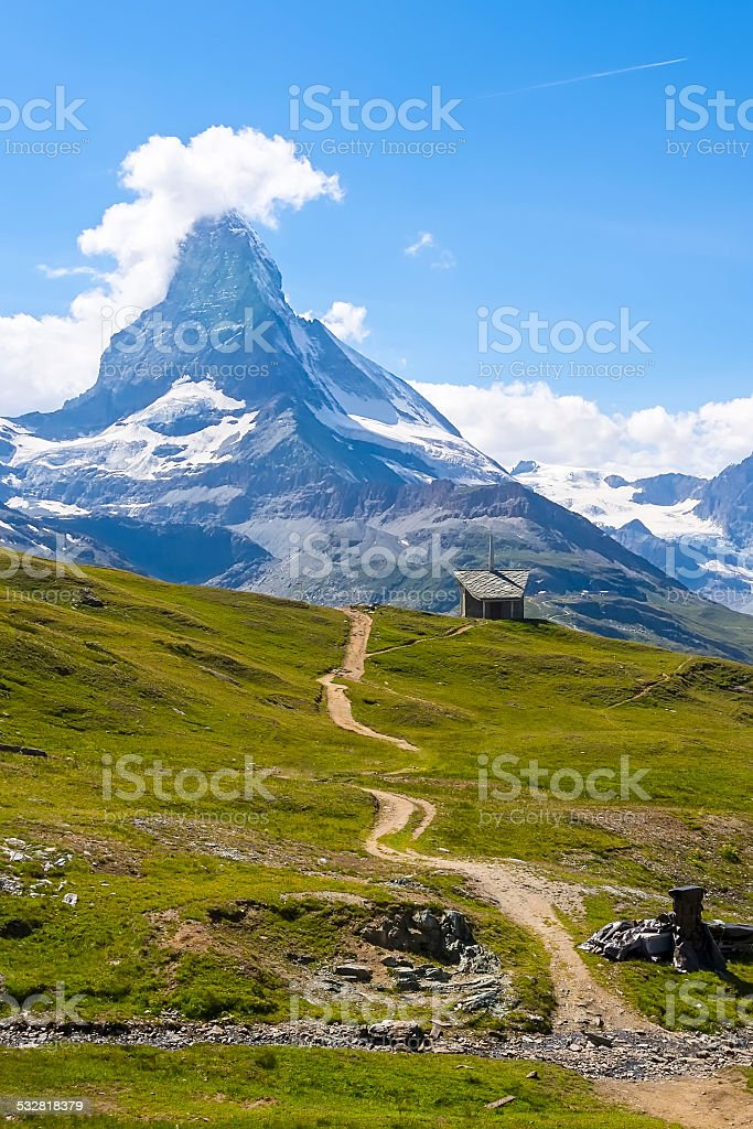 Matterhorn, Zermatt, Switzerland. stock photo