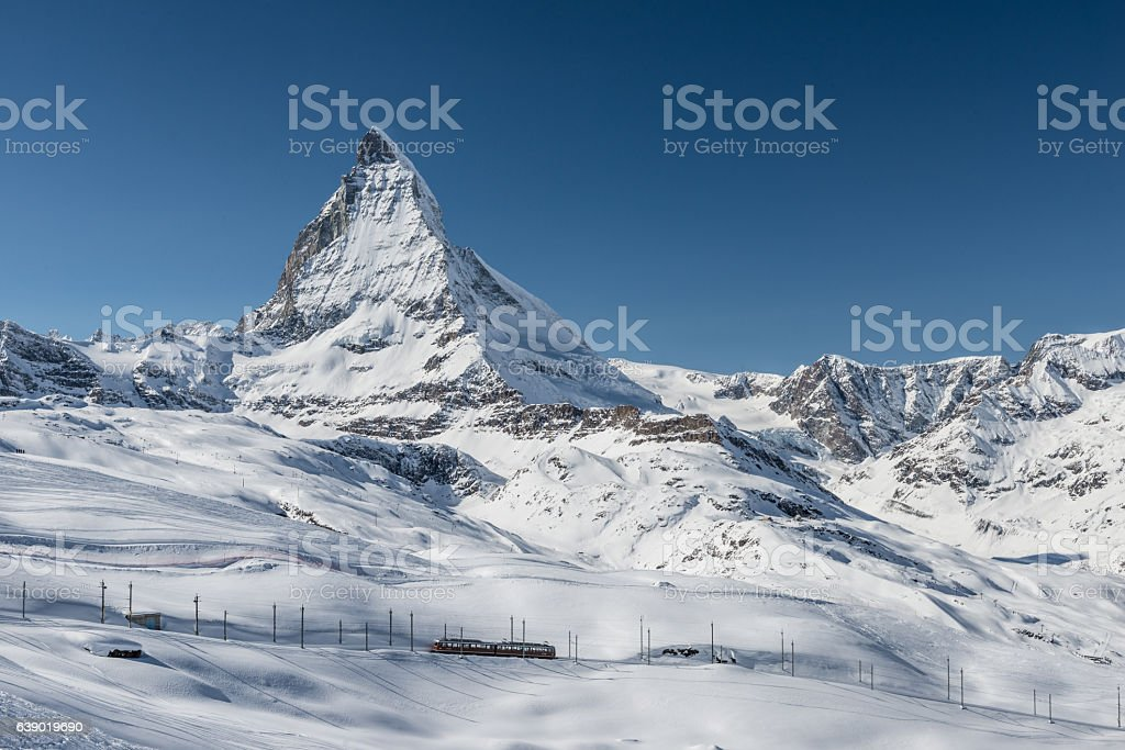 Matterhorn Zermatt Switzerland stock photo